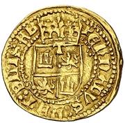 ½ castellano Ferdinand et Isabelle – revers