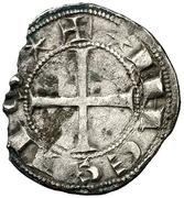 Dinero Alphonse VII León – avers