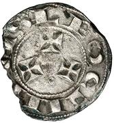 Dinero Alphonse VII León – revers