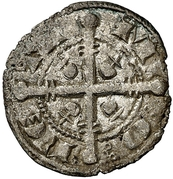 Dinero Ferdinand III La Corogne – avers