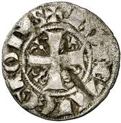 Dinero Ferdinand III León – avers