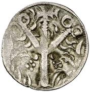 Dinero Ferdinand III León -  revers