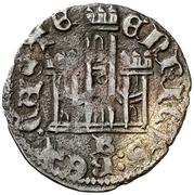 Cornado Henri III Burgos – revers