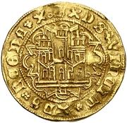 Castellano Henri IV Ségovie – avers