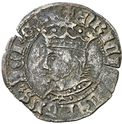 Dinero Henri IV Tolède – avers