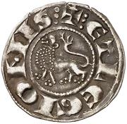 Dinero Alphonse X León – revers