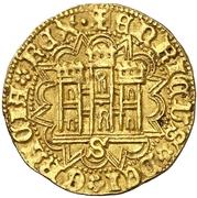 Castellano Henri IV Séville – avers