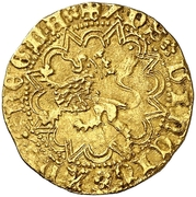 Castellano Henri IV Séville – revers