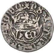 ¼ real Henri IV Cuenca – avers