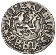 ¼ real Henri IV Cuenca – revers