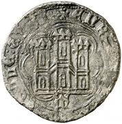 Cuartillo Henri IV Madrid – revers