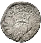 ½ real Henri II Burgos – avers
