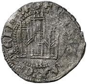 Dinero Henri III Burgos – avers