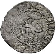 Dinero Henri III Burgos – revers
