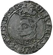 Dinero Henri IV Burgos – avers