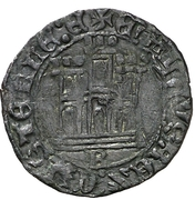 Dinero Henri IV Burgos – revers