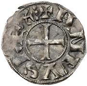 Dinero Alphonse VI León – avers