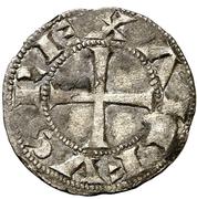 Dinero Alphonse VII Ségovie – avers