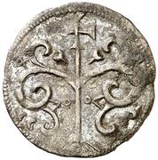 Dinero Alphonse VII Ségovie – revers