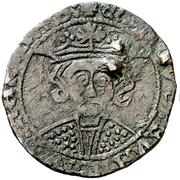 Dinero Alphonse VII Cordoue – avers
