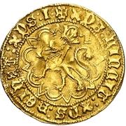 Castellano Henri IV Coruna – revers