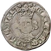 Cuartillo Henri IV Palencia – avers