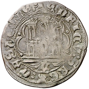 Cuartillo Henri IV Palencia – revers