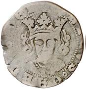 Cuartillo Henri IV Valladolid – avers