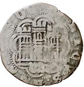 Cuartillo Henri IV Valladolid – revers