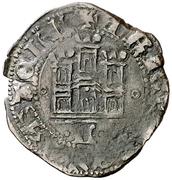 ½ Cuartillo Henri IV León – revers