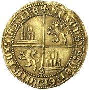 Dobla Alphonse de Ávila prétendant Séville – revers