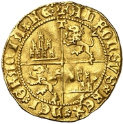 Dobla Alphonse de Ávila prétendant Tolède – revers