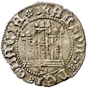 ½ cuartillo Alphonse de Ávila prétendant Seville – revers