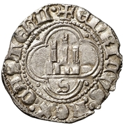 ½ real Henri III Séville – revers