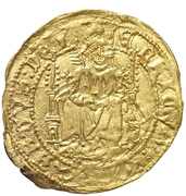 ½ enrique Henri IV Madrid – avers