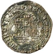 Cuartillo Henri IV Toro – revers