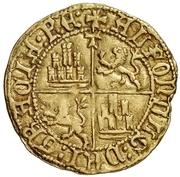 ½ dobla Henri IV Tolède – revers