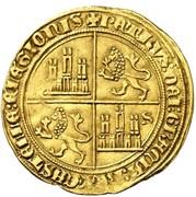 Dobla Pedro I Séville – revers