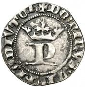 ½ real Pierre I Burgos – avers