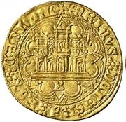 Castellano Henri IV Burgos – avers