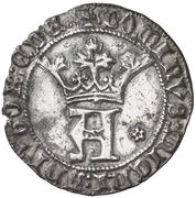 Real Alphonse de Ávila prétendant Tolède – avers