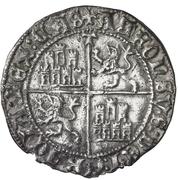 Real Alphonse de Ávila prétendant Tolède – revers