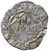 Blanca Henri IV losange Ávila – avers