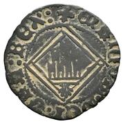 Blanca Henri IV losange La Corogne – avers
