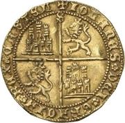 Dobla Jean II Séville – revers