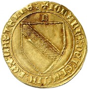 Dobla Jean II Burgos – avers