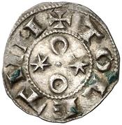 Dinero Alphonse VI Tolède – revers