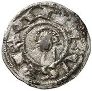 Obolo Alphonse I d'Aragon Tolède – avers