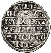¼ Maravedi Alphonse X Séville – avers