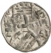 Dinero Alphonse VIII Calahorra – avers